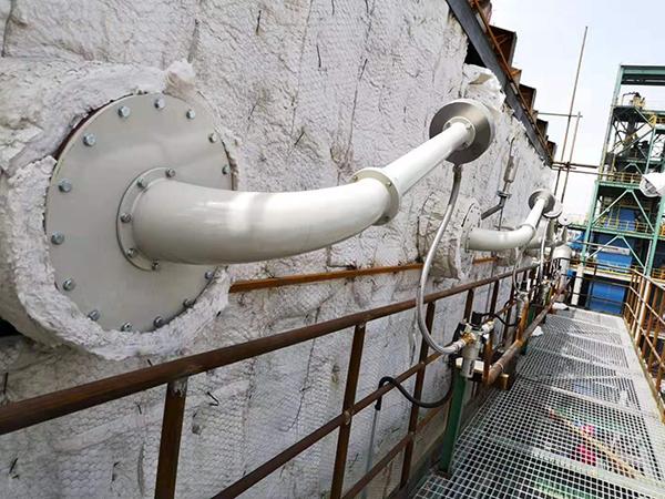 声波清灰器用于钢厂余热换热器清灰