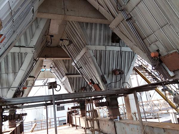 射频导纳及UL阻移料位计用于钢厂电除尘器灰斗