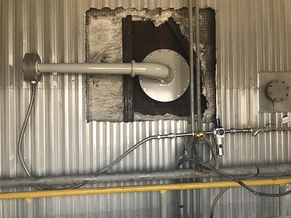 声波清灰器用于电厂锅炉SCR反应器