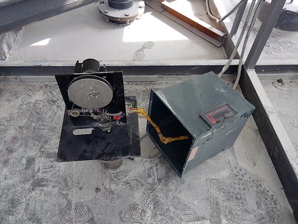 重锤料位计用于石膏粉料位测量